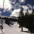 "Quick trip for a couple ""training"" days at Kirkwood for Ericks bachelor party. Beautiful day. Got the mountain all to myself. First time skiing with a helmet and good sound […]"